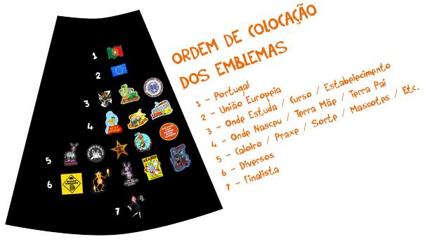 capa academica emblemas